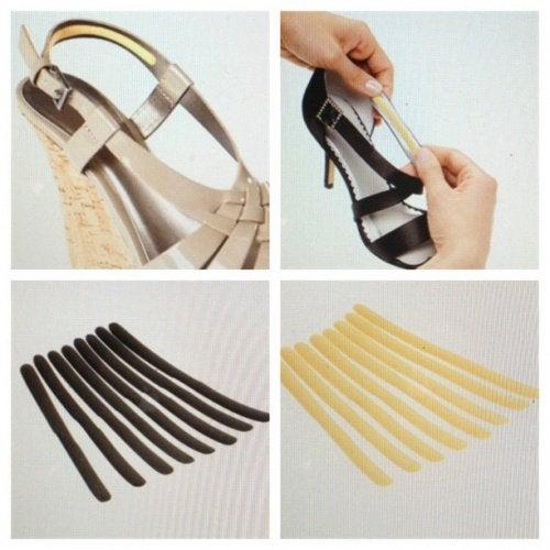 Ремешки обуви часто оставляют ссадины на коже