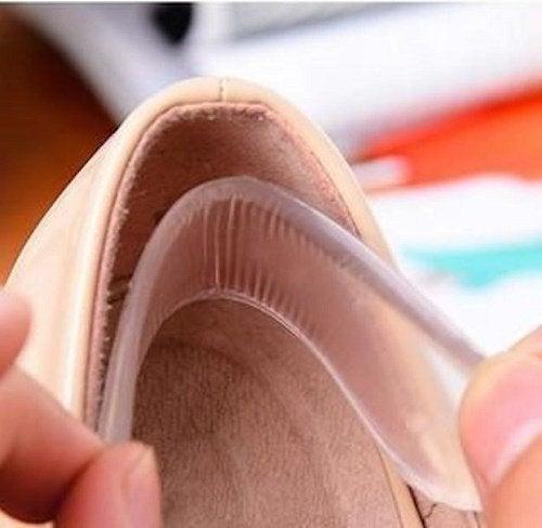 Не забывай вставлять в обувь специальные силиконовые супинаторы