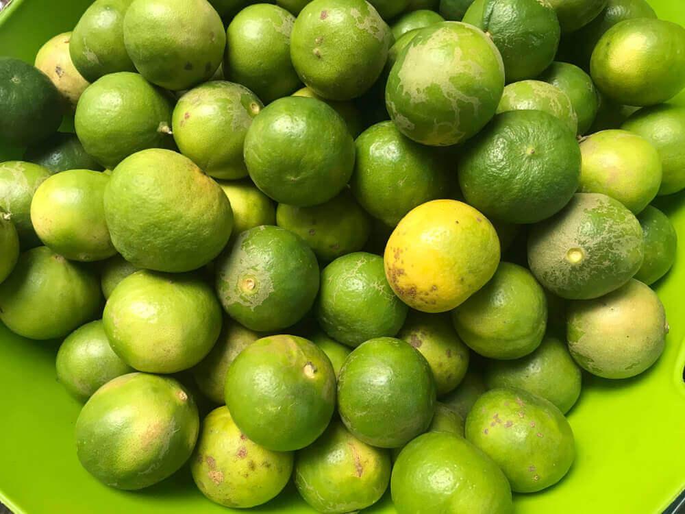 Зеленые лимоны