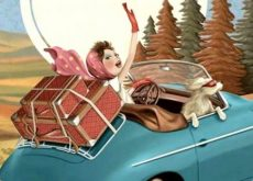 Женщина в машине и жизнь