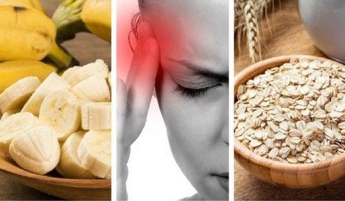 9 продуктов, которые помогут победить усталость и головную боль