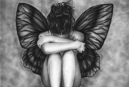 Женщина фея и депрессия