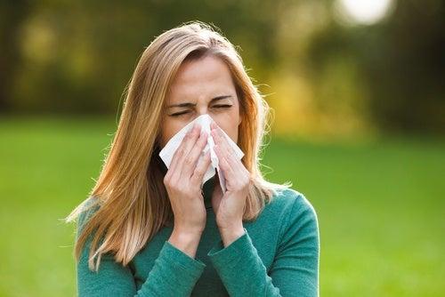 Аллергия и темные круги