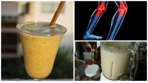 Ревматоидный артрит: 5 лечебных коктейлей, которые снимут боль