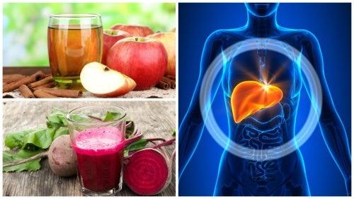 Очищение печени от токсинов: 5 лучших натуральных напитков