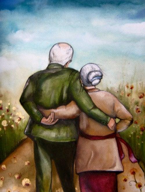 Пара сохранившая молодость души