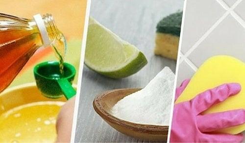 Как очистить плитку и швы в ванной натуральными средствами?