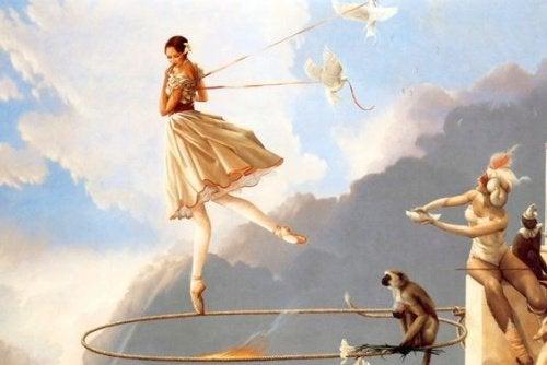 Женщина акробат не хочет возвращаться в прошлое