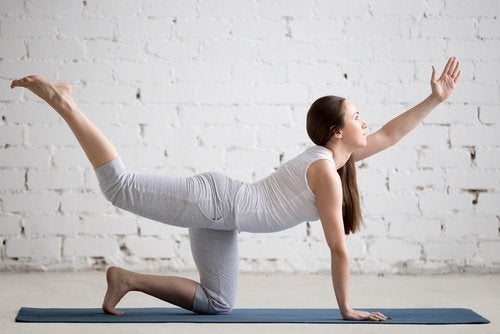 Поясница и упражнение
