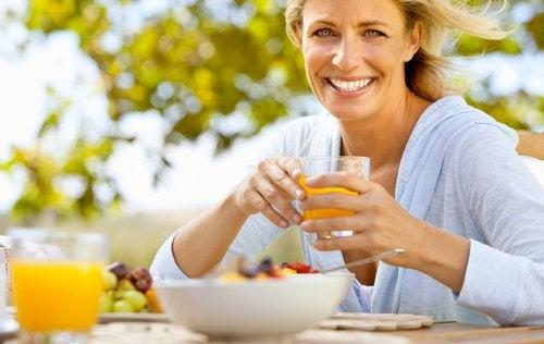 Менопауза фрукты и овощи