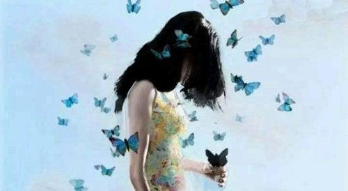 Бабочки и спокойствие