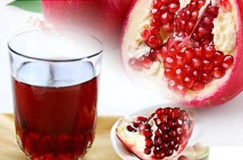 Гранатовый сок поможет убрать лишний вес