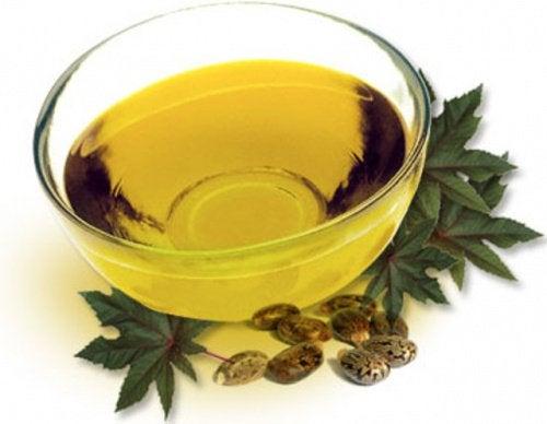 Натоптыши и касторовое масло