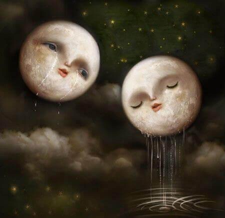 Луна и быть сильной