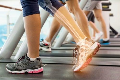 Ноги и укрепление костей и суставов