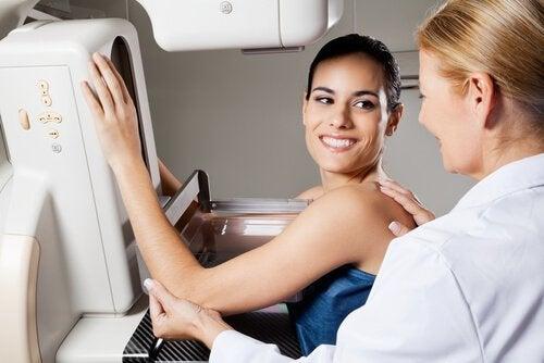 Молочные железы и обследование