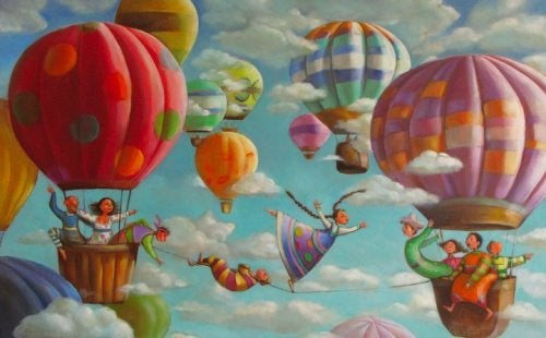 Дом на воздушном шаре