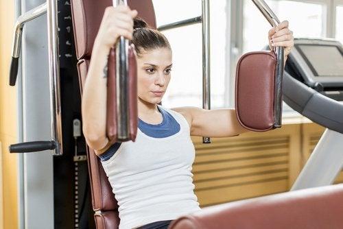 Молочные железы и физические упражнения