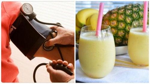 Вкусный утренний коктейль, который поможет понизить давление