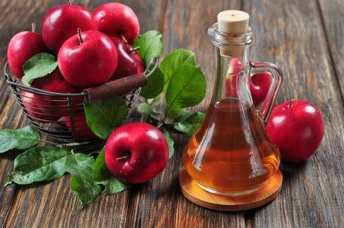 Яблочный уксус поможет защитить кожу