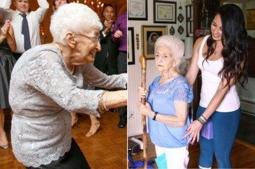 Как йога изменила осанку и жизнь 87-летней женщины