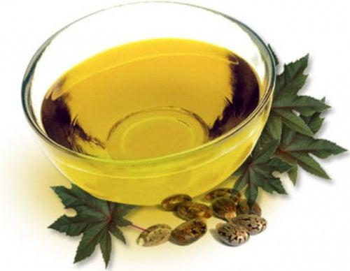 Рициновое масло и брови
