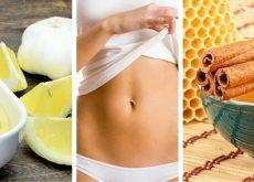 Убрать жир с живота 5 натуральных средств