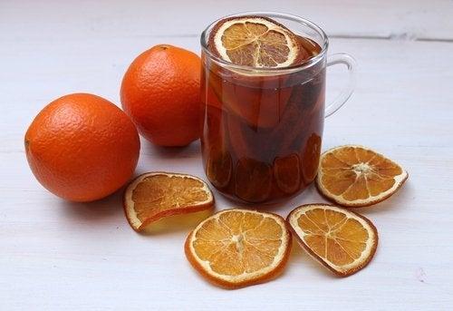 Никотин и апельсиновый чай