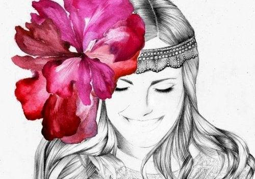 Цветок и ум