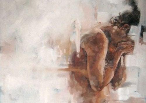 Женщина в депрессии
