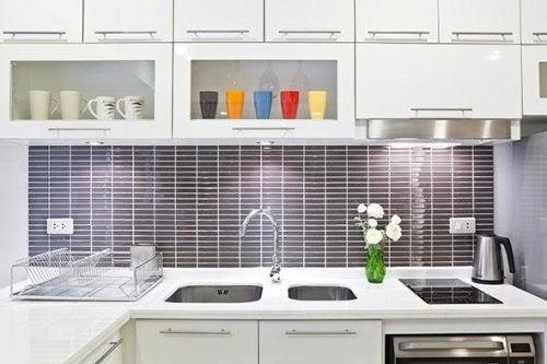 Кухня и известковый налет