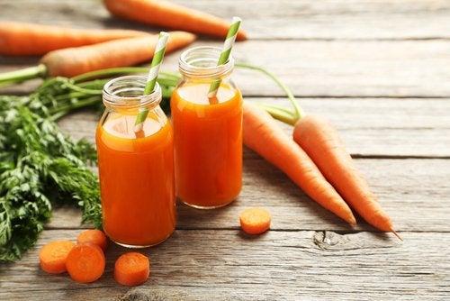 Морковь и отрицательные калории