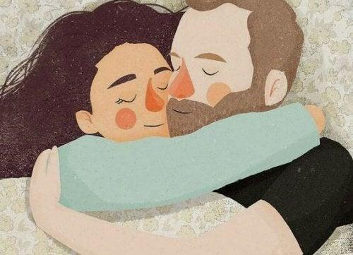 Обнимите тех, кого любите