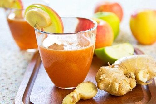 Чем так полезен смузи из моркови и имбиря?