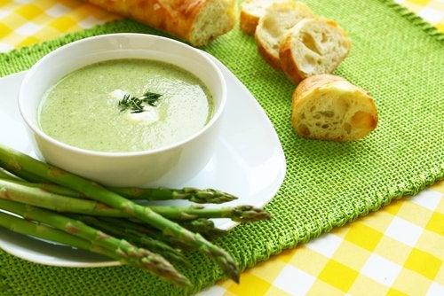 Спаржа и суп