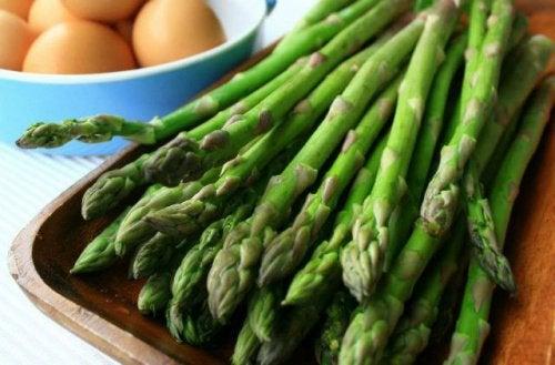 Спаржа и отрицательные калории