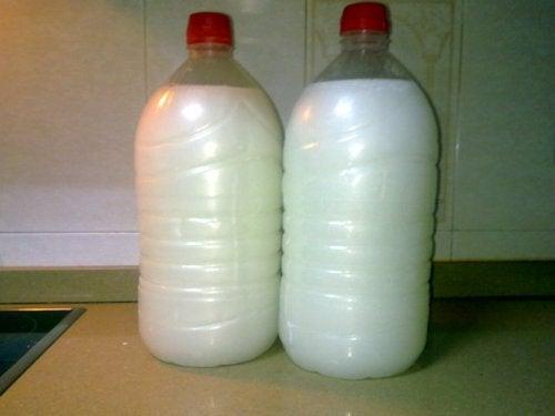 Переработанное жидкое мыло