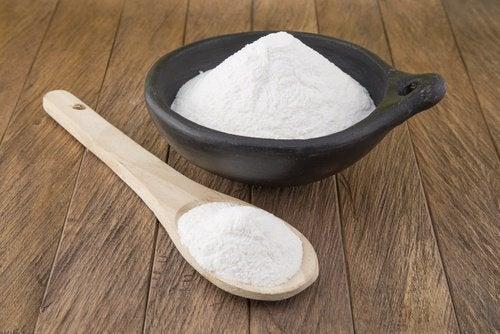 Пищевая сода уберет пыль