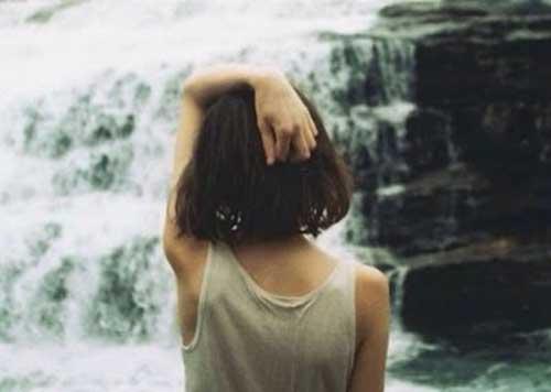 Женщина со спины