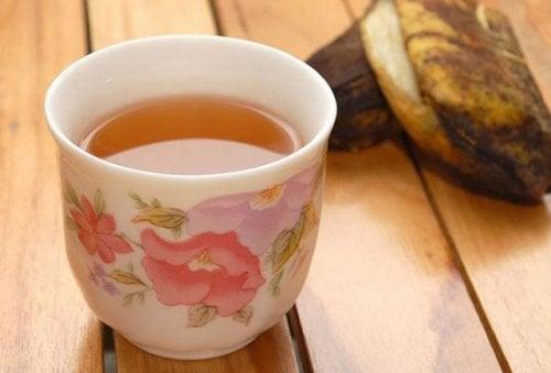 Чай из банана поможет если у вас бессонница