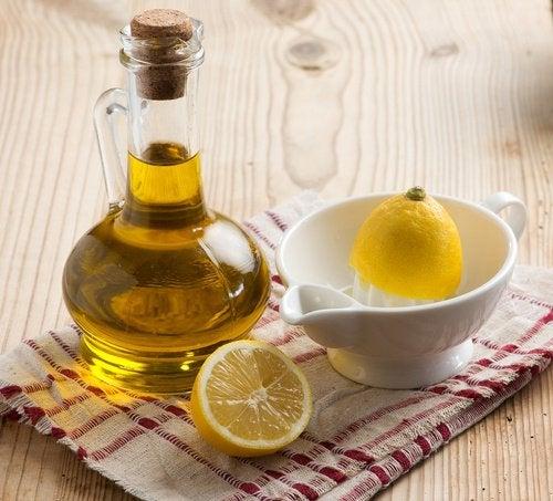 Растяжки и лимон