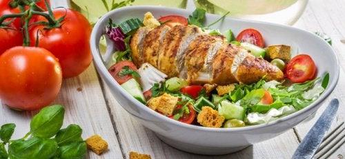 Обед поможет похудеть
