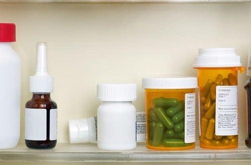 Таблетки и ванная комната