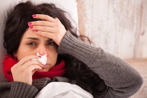 Корица помогает выздороветь от гриппа