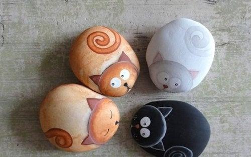 Творчество на камнях и стресс