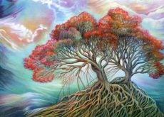 Дерево символизирующее социальный интеллект