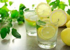 Вода с лимоном чтобы лучше спать