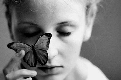 Бабочка чтобы не расстраиваться