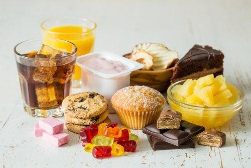 Фруктоза и конфеты