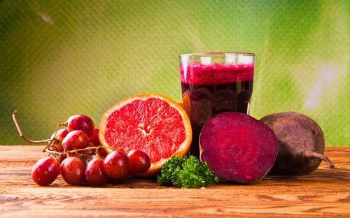 Анемия и красные овощи